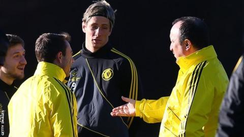 Rafa Benitez & Fernando Torres