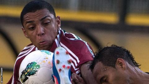 Wallace of Fluminense