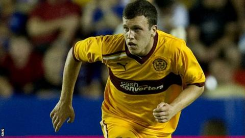 Motherwell defender Adam Cummins