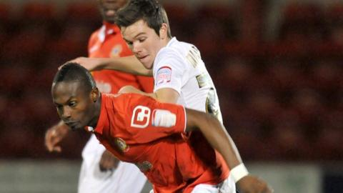 Crewe v Doncaster, JPT, Abdul Osman holds off Harry Middleton