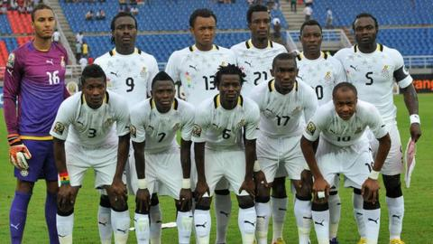 Ghana at the 2012 Africa Cup of Nations