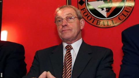 Doug Smith was Dundee United chairman
