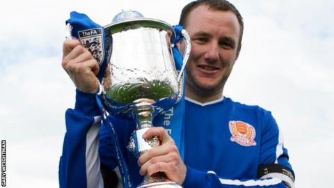 Jersey's Luke Watson with Inter-League Cup