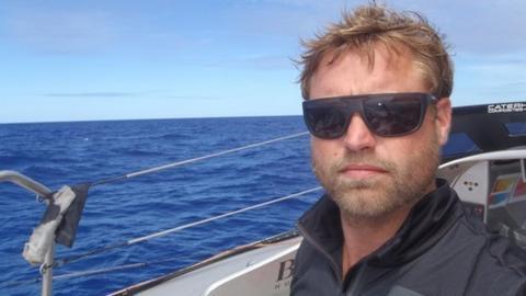 British sailor Alex Thomson