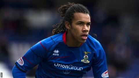 Inverness striker Philip Roberts