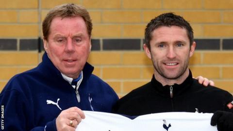 Harry Redknapp & Robbie Keane