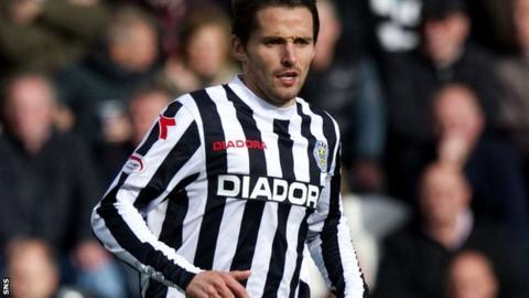 St Mirren defender Lee Mair