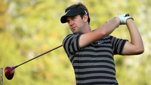 Scotland golfer Scott Jamieson, who won the Nelson Mandela Championship