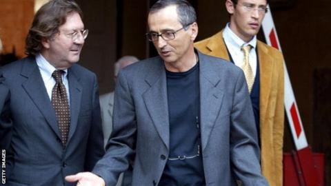 Michele Ferrari (right)
