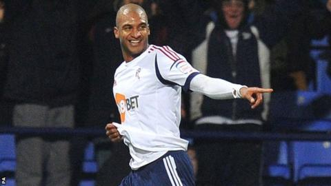 Bolton striker David Ngog