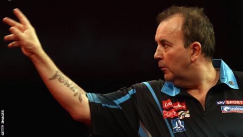 15-time world champion Phil Taylor