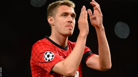 Manchester United and Scotland midfielder Darren Fletcher makes his club return after an 11-month absence