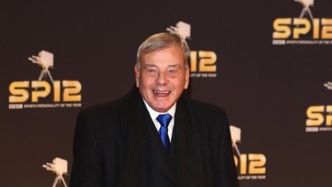 Former cricket umpire Dickie Bird