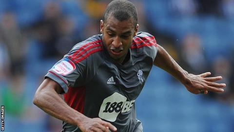 Bolton Wanderers striker David Ngog