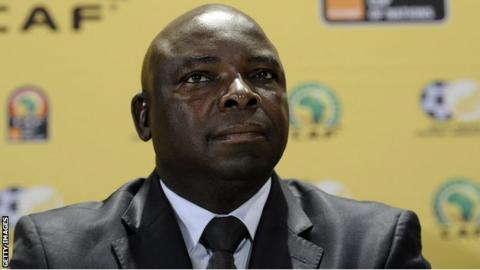 Former South African Football Association president Kirsten Nematandani