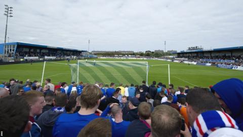 Peterhead v Rangers