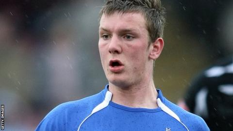 Southport midfielder Aaron Chalmers