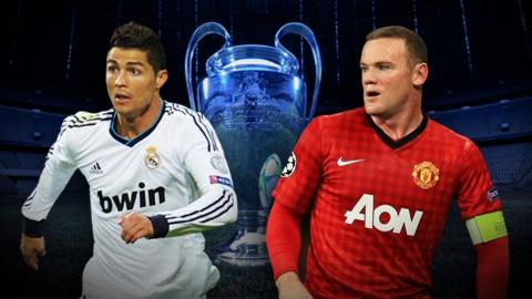 5c642885a Champions League  Manchester United draw Real Madrid - BBC Sport