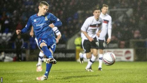 Inverness forward Billy McKay