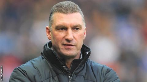 Leicester manager Nigel Pearson