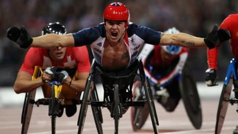 Wheelchair racer David Weir
