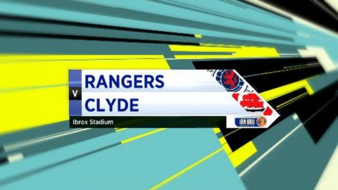 Highlights - Rangers 3-0 Clyde