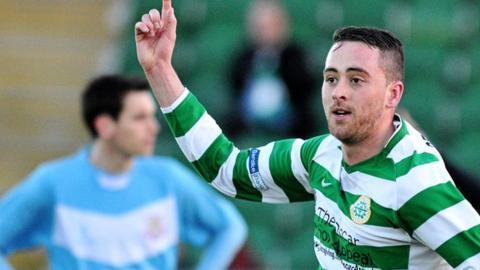 Shane Dolan has agreed to join Ballymena United