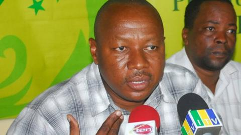 Tanzania Football Federation secretary general Angetile Osia