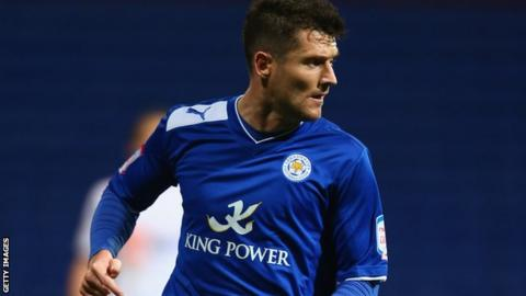 Leicester City striker David Nugent
