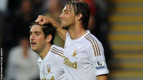 Danny Graham and Michu