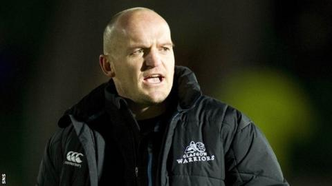 Glasgow Wariors head coach Gregor Townsend