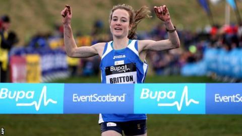 European cross country champion Fionnuala Britton