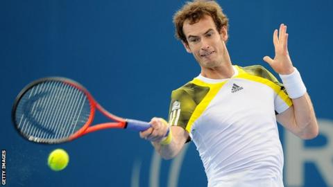 Andy Murray is ranked three in the world