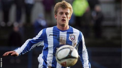 Aaron Boyd has been released by Coleraine