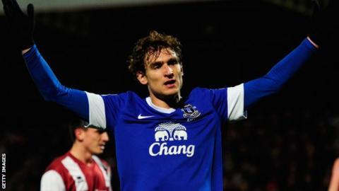 Everton's Nikica Jelavic