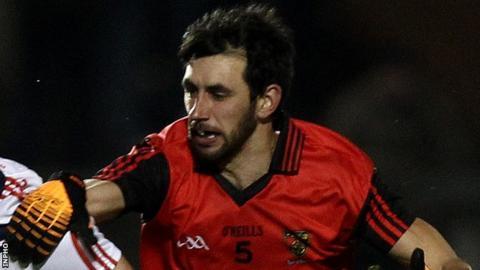 Kilcoo's Aidan Branagan is also a Down county player