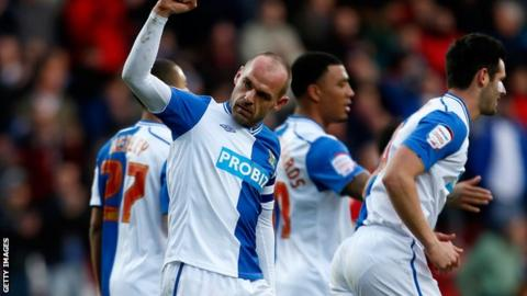 Blackburn Rovers midfielder Danny Murphy