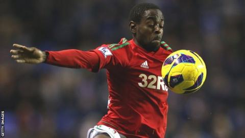Swansea City's Nathan Dyer