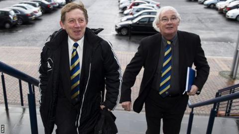Gordon McDougall and Jim Leishman