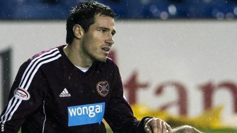 Former Hearts defender Ryan McGowan