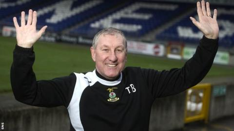 Terry Butcher could not bring himself to leave Inverness Caledonian Thistle
