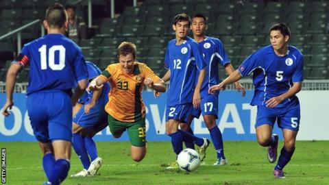 Guam national football team (blue)