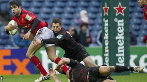 Munster were too powerful for Edinburgh