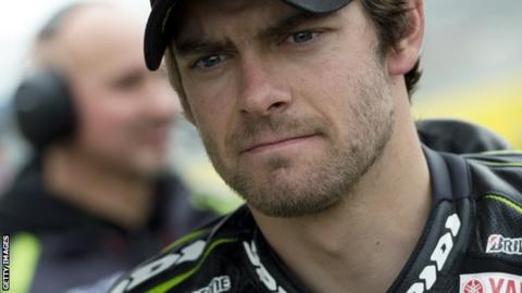 MotoGP rider Cal Crutchlow