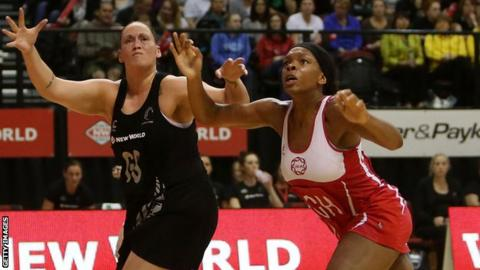 England defender Eboni Beckford-Chambers