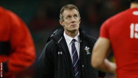 Wales coach Rob Howley