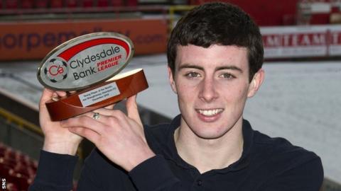 Aberdeen defender Joe Shaughnessy