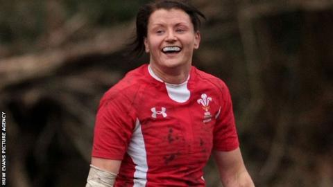 Welsh women's rugby captain Rachel Taylor