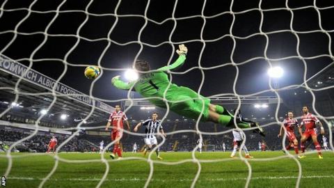 Rob Green saves from Romelu Lukaku