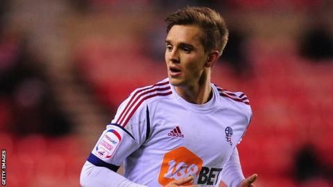 Bolton Wanderers midfielder Stuart Holden